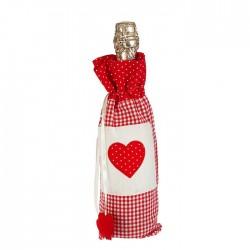 """Одежда на бутылку """"Уют"""" с сердцем 1531427"""