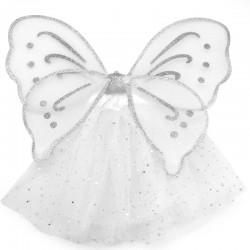 Набор Искорка (юбочка, крылья), Серебро