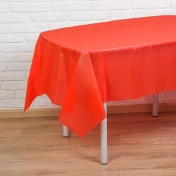 """Скатерть 137*183 см """"Праздничный стол"""", цвет красный 1019754"""