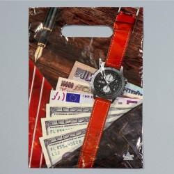 """Пакет """"Мужской NEW"""", полиэтиленовый с вырубной ручкой, 20х30 см, 30 мкм 4053029"""