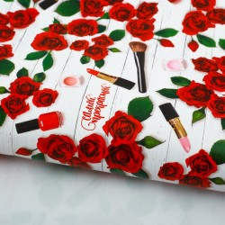 Бумага упаковочная глянцевая «Самой прекрасной», 70 × 100 см 2773557