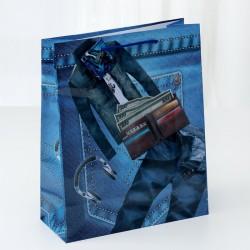 """Пакет ламинированный """"Джинсы"""", 26 х 32 х 11 см 3821473"""