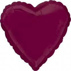 Шар Сердце Ягодный 46 см