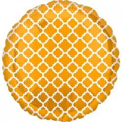 Шар Круг Узор на золоте 46 см