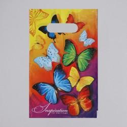 """Пакет """"Вдохновение"""", полиэтиленовый с вырубной ручкой, 20х30 см, 30 мкм 1464569"""