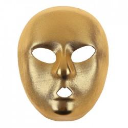 """Карнавальная маска """"Лицо"""", цвет золото 4301973"""