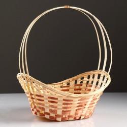 Корзина «Ладья», 36×27×13 см, бамбук 4427917