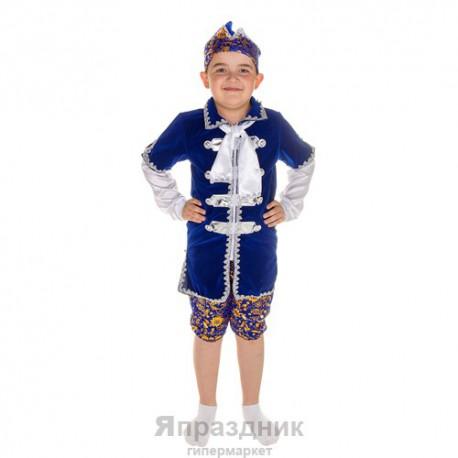 """Царевич"", 4 предмета: шапка, пояс, штаны, кафтан, размер M 120-130 см, 9-7 лет"