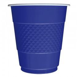 "S Стаканы пластиковые 210 мл ""Делюкс"" Синие / набор 10 шт. / (Колумбия)"