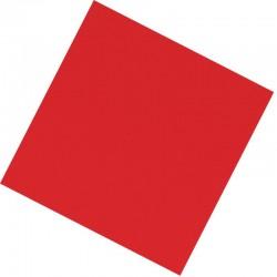 """Салфетки 25*25 см """"Делюкс"""" Красные / набор 20 шт. / (Китай)"""