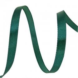 Лента Атлас Темно-зеленый / 25 мм * 22,85 м (Китай)