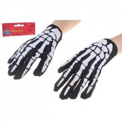 """Прикол перчатки """"Скелет"""" 453869"""