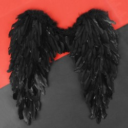Крылья ангела 60*57, цвет чёрный 4300815