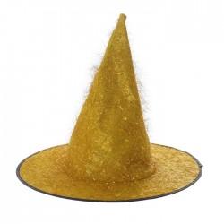 """Карнавальная шляпа """"Конус"""" р-р 56-58, цвет золото 3543913"""