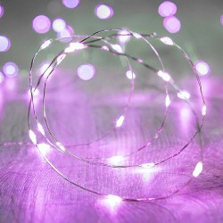 Светодиодная лента для воздушного шара, 3 метра, фиолетовый цвет 3584079