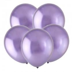 Т Метал 12 Зеркальные шары, Сиреневый / Mirror Violet / 50 шт. / (Турция)