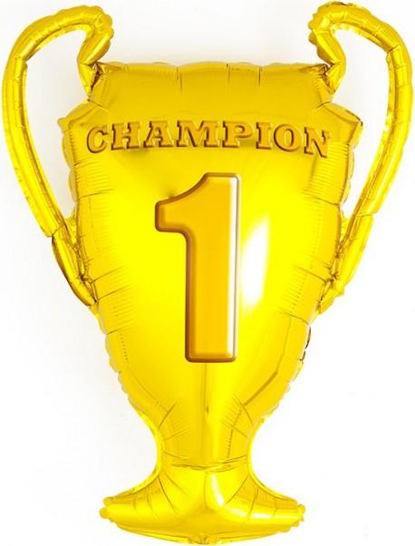 Шар (28''/71 см) Фигура, Кубок Чемпионов, Золото, 1 шт.