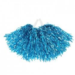 Набор помпонов (2 шт) гофрированные, синий цвет 1146379