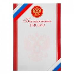 """Благодарственное письмо """"Символика РФ"""" триколор 4609938"""