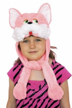 Шапочка Кошечка розовая