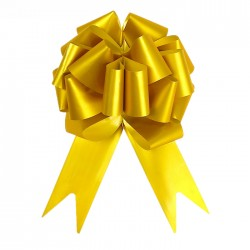 Бант-шар №4,5 простой золотой