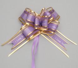 Бант-шар №3, цвет фиолетовый