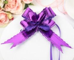 Бант-бабочка №3 фиолетовый