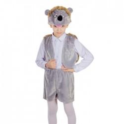 """Карнавальный костюм """"Ежик"""", жилетка, шорты, маска-шапочка, рост 122 см 624761"""