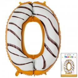 К 34 Цифра 0 Пончик в упаковке / Zero Donut / 1 шт / (Китай)