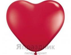 Q Сердце 3 ' Кристалл Ruby Red (5032561444875)