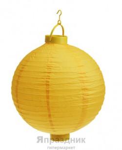 Фонарь желтый 30х35см
