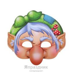 """Маска карнавальная """"Баба Яга"""", 24,5 х 23, 4 см"""