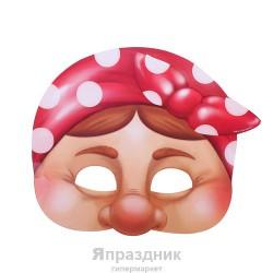 """Маска карнавальная """"Бабка"""", 23, 8 х 19, 6 см"""