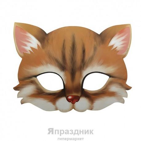 """Маска карнавальная """"Котик"""", 21,4 х 15,5 см"""