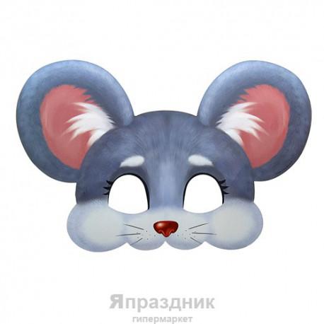 """Маска карнавальная """"Мышка"""", 29 х 19,4 см"""