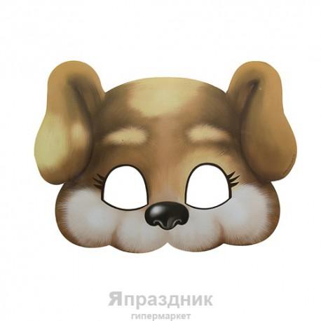 "Маска карнавальная ""Собачка"", 23,5 х 17 см"