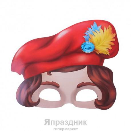 "Маска карнавальная ""Принц"", 24,5 х 20, 5 см"
