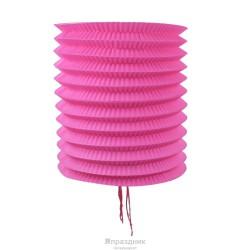 Бумажный цилиндр розовый