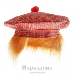 Карнавал шляпа крупная клетка