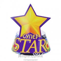 "Колпак вырезной (набор 6 шт) ""Супер STAR"""