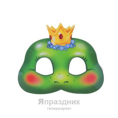 """Маска карнавальная """"Царевна-лягушка"""", 19,6 х 16,5 см"""