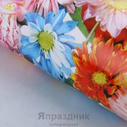 Бумага упаковочная Ассорти цветов 52 х 76 см