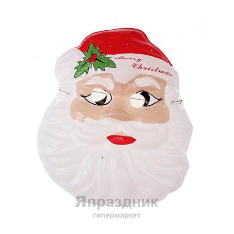 Карнавал маска пластик дед мороз