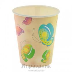 Набор стаканов Бабочки 6 шт