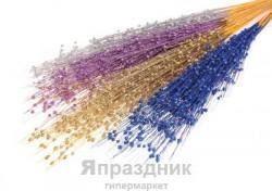 Декор шарик мелкий 80 см (в упаковке 1 цвет) 292258