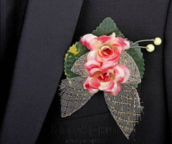 Бутоньерка but-55 орхидея розовая