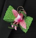 Бутоньерка but-56 бутоны розовый ассорти цветок