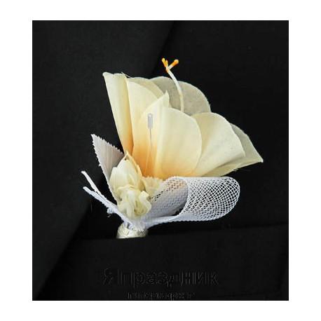 Бутоньерка but-57 роза айвари