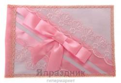 Книга пожеланий ручной работы розовый