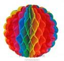 Шар подвесной многоцветный